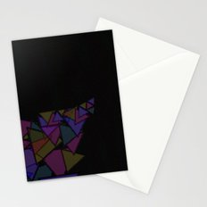 There Will Be Triangles Stationery Cards