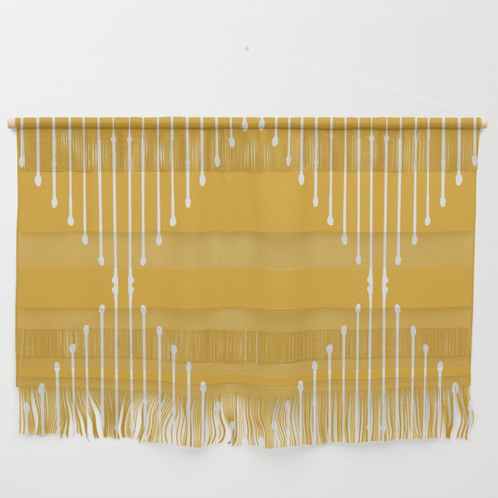 Geo / Yellow Wall Hanging by Summer Sun Home Art