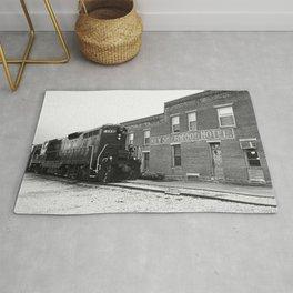 Train and Sherwood Hotel Rug