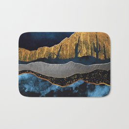 Midnight Desert Moon Bath Mat