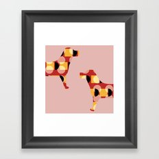 Dogs Framed Art Print