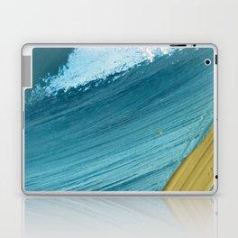 Paradise: a vibrant, minimal, abstract mixed media piece Laptop & iPad Skin