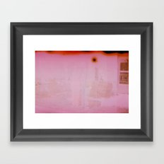 Do Not Pass Framed Art Print