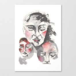 Common Thougths Canvas Print