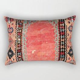 Sivas  Antique Cappadocian Turkish Niche Kilim Rectangular Pillow