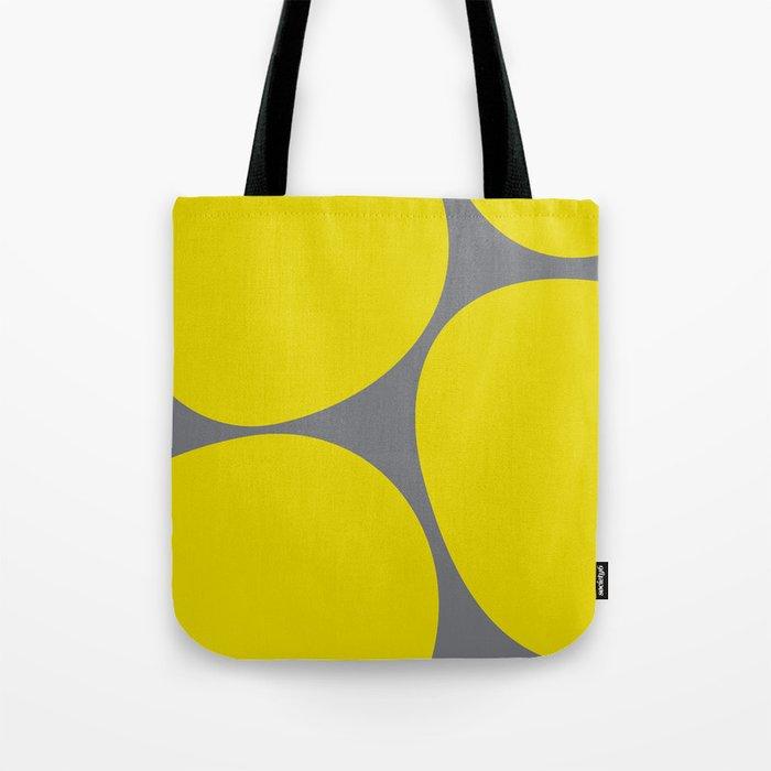 Big Dots Yellow Tote Bag
