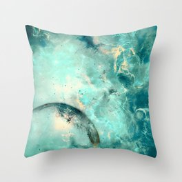 Planets Discovery Throw Pillow