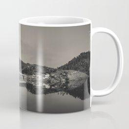 Bridge across Cavado river (B&W). Geres National Park, Portugal Coffee Mug