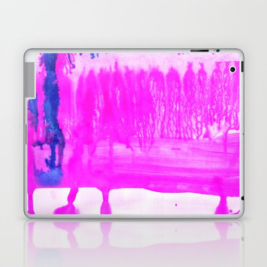 Dip Dye Hot Pink Laptop & iPad Skin