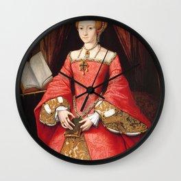 The Blood countess - Elizabeth Bathory Wall Clock