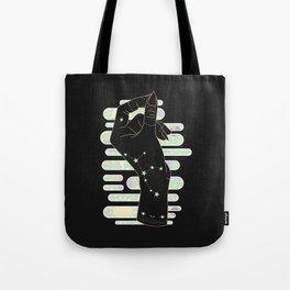 Virgo - Zodiac Illustration Tote Bag