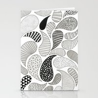 paisley Stationery Cards featuring Paisley by Anita Ivancenko