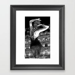 asc 686 - Le signal codé (Our cipher) Framed Art Print