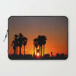 Venice Beach Sunset Laptop Sleeve