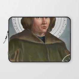 Nicolaus Copernicus Solar System Laptop Sleeve