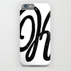 Monogrammed Letter K Slim Case iPhone 6s