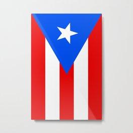 Puerto Rico Flag - Boricua Pride Metal Print