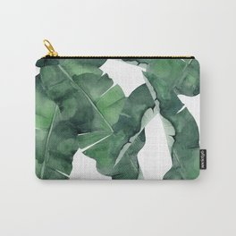 Tropical Island Leaves Carry-All Pouch