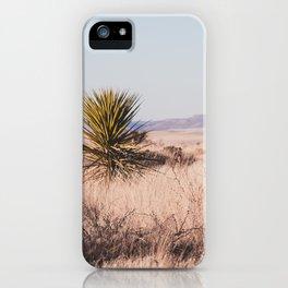 West Texas Vista iPhone Case