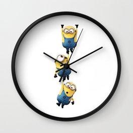 minion cute Wall Clock