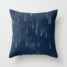 Wishing Stars Throw Pillow