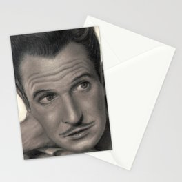 Young Vincent Price Stationery Cards