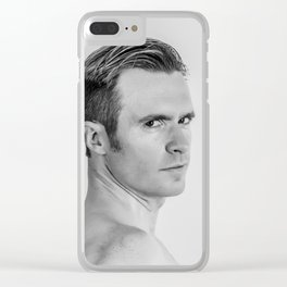 Headshot Clear iPhone Case