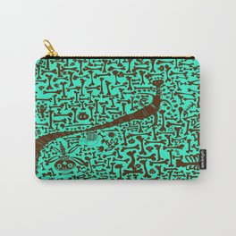 Bonescape Mint Chip Carry-All Pouch