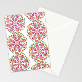 """Carousel Of Love"" No.1 | Mandala Design Stationery Cards"