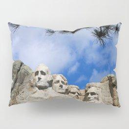 Mount Rushmore Pillow Sham