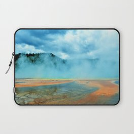 The Grand Prismatic Spring in Yellowstone National Park Laptop Sleeve