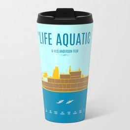 The Life Aquatic - Alternative Movie Poster Travel Mug