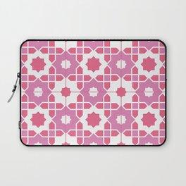 Portuguese Azulejos - Pink Palette Laptop Sleeve