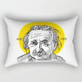 St. Einstein Rectangular Pillow