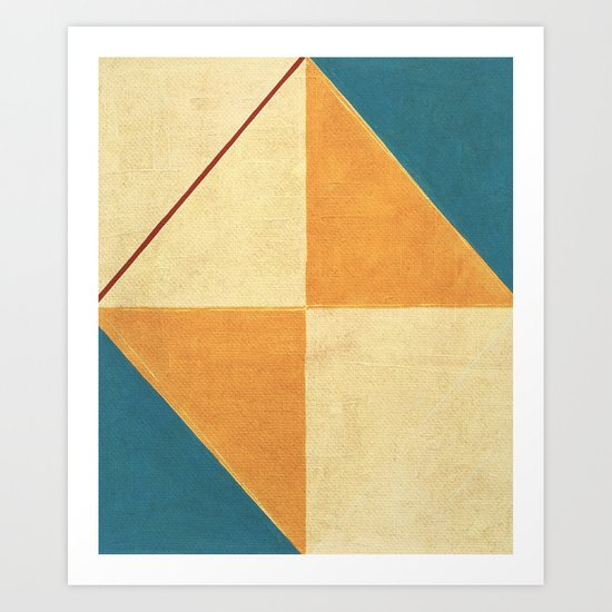 Geometric Thoughts 9 Art Print