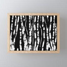 CURVY BIRCH TREE Framed Mini Art Print