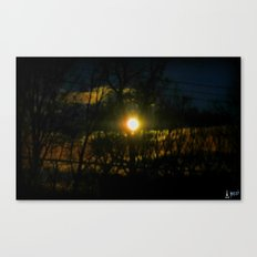 Electric Moonlight Canvas Print