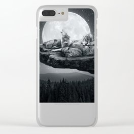 Echoes of a Lullaby Clear iPhone Case