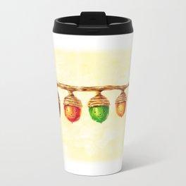 Acorn family Metal Travel Mug
