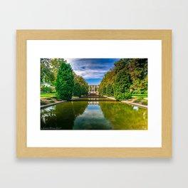 Reflecting Pools Framed Art Print