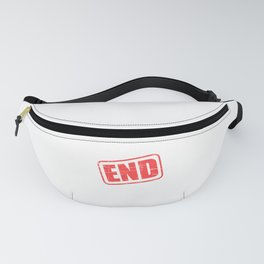 """Fight against rape with this tangy outfit! """"End Rape Culture"""" tee for you and your friends too!  Fanny Pack"""