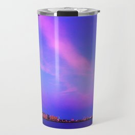 Atlantic Ocean Waves Travel Mug
