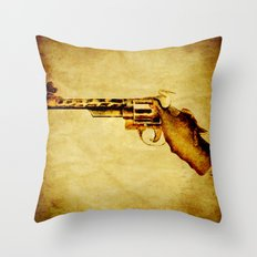 Zoo revolver Throw Pillow