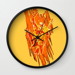TMNT Rock: Mikey Wall Clock