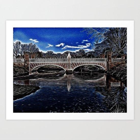 Eglington Bridge Art Print
