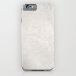 Grunge gray background iPhone Case