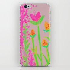 NEON BLOOM  iPhone & iPod Skin