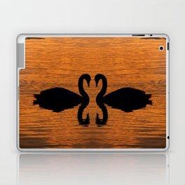 Swan Love Laptop & iPad Skin