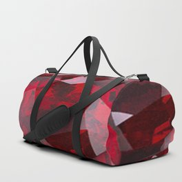 RED GARNET GEMS JANUARY BIRTHSTONE Duffle Bag