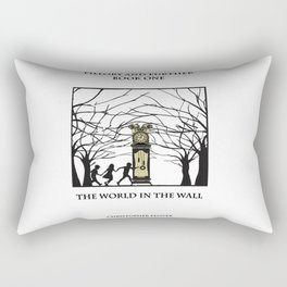 The World in the walls Rectangular Pillow